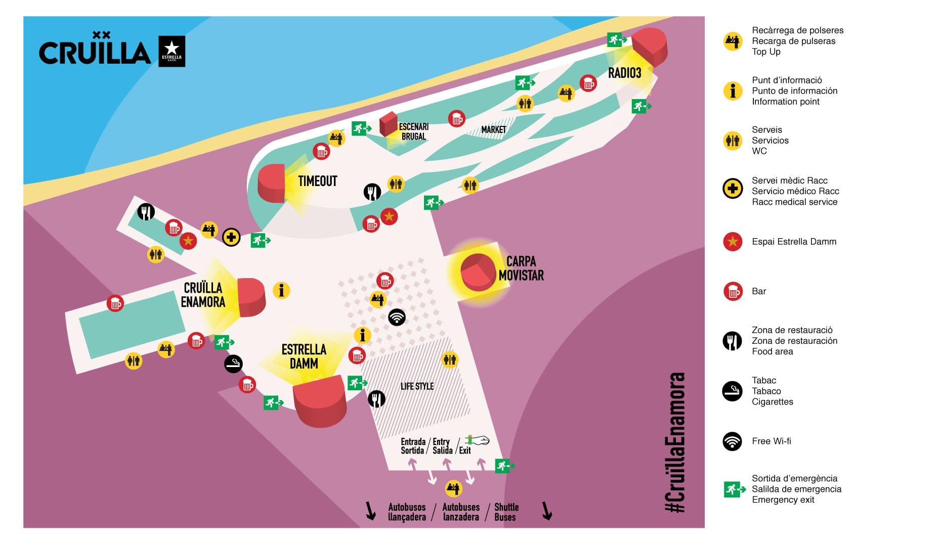 Mapa cruilla 2018