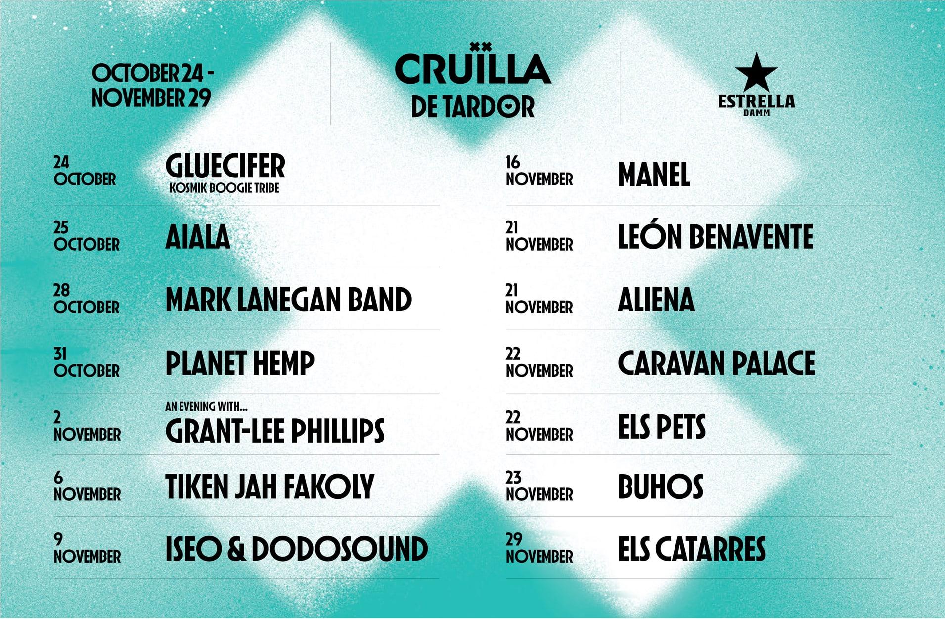Festival Cruïlla - Cruïlla de Tardor - Cruïlla de Primavera